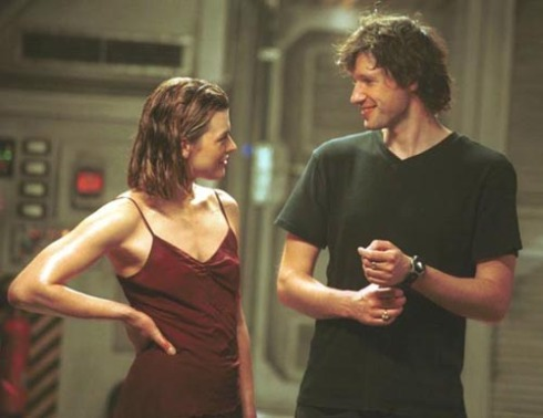 Milla Jovovich and Paul W.S. Anderson