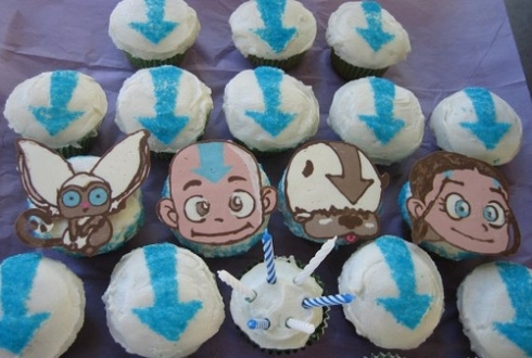 Avatar The Last Airbender cupcakes