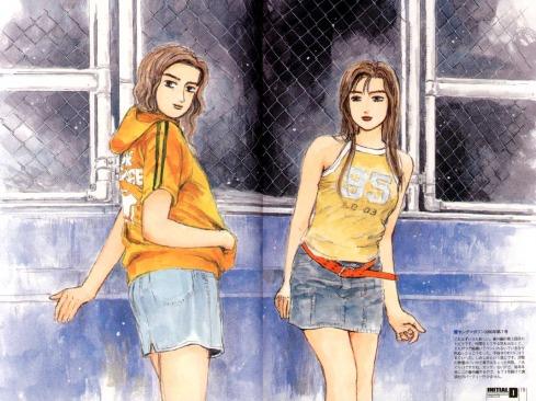 Sayuki & Mako, Initial D