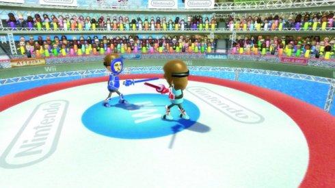 Wii Sword-fighting