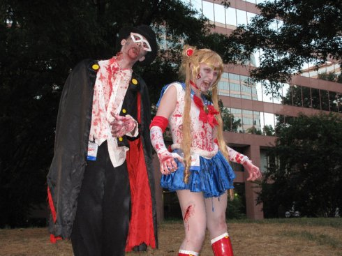 Zombies, Sailor Moon, Tuxedo Mask