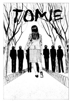 Tomie, the scariest motherfucking girl in fiction. Image via flying-teapot.blogspot.com