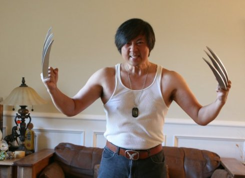 2008 - Wolverine. Asian one. Lol. Formed from fiberglass.